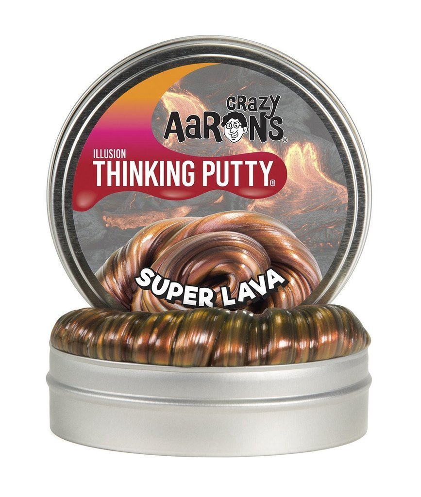 CRAZY AARON'S THINKING PUTTY ILLUSIONS SUPER LAVA
