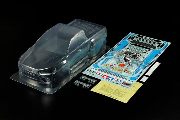 Tamiya #51611 1/10 Toyota Hi-Lux Extra Cab Body Parts