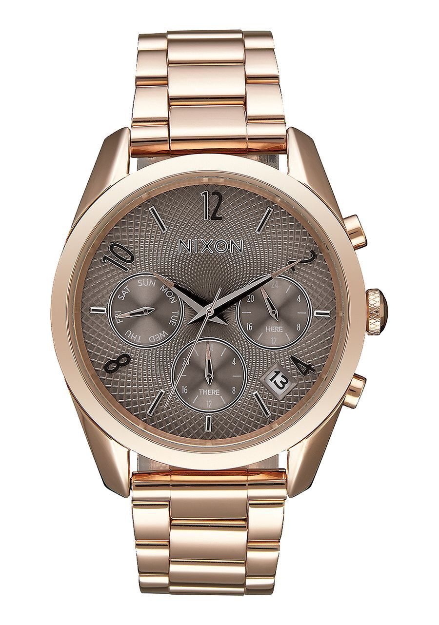 NIXON - BULLET CHRONO 36 ROSE GOLD/TAUPE A949 2214-00