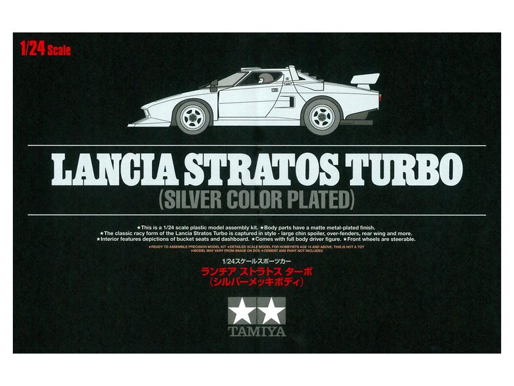 Tamiya #25418 1/24 Lancia Stratos Turbo