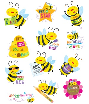 CTP 4403 BEE REWARD STICKERS