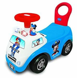 MICKEY POLICE CAR LIGHT & SOUND RIDE ON