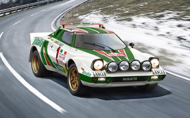 Italeri #3654 1/24 Lancia Stratos HF