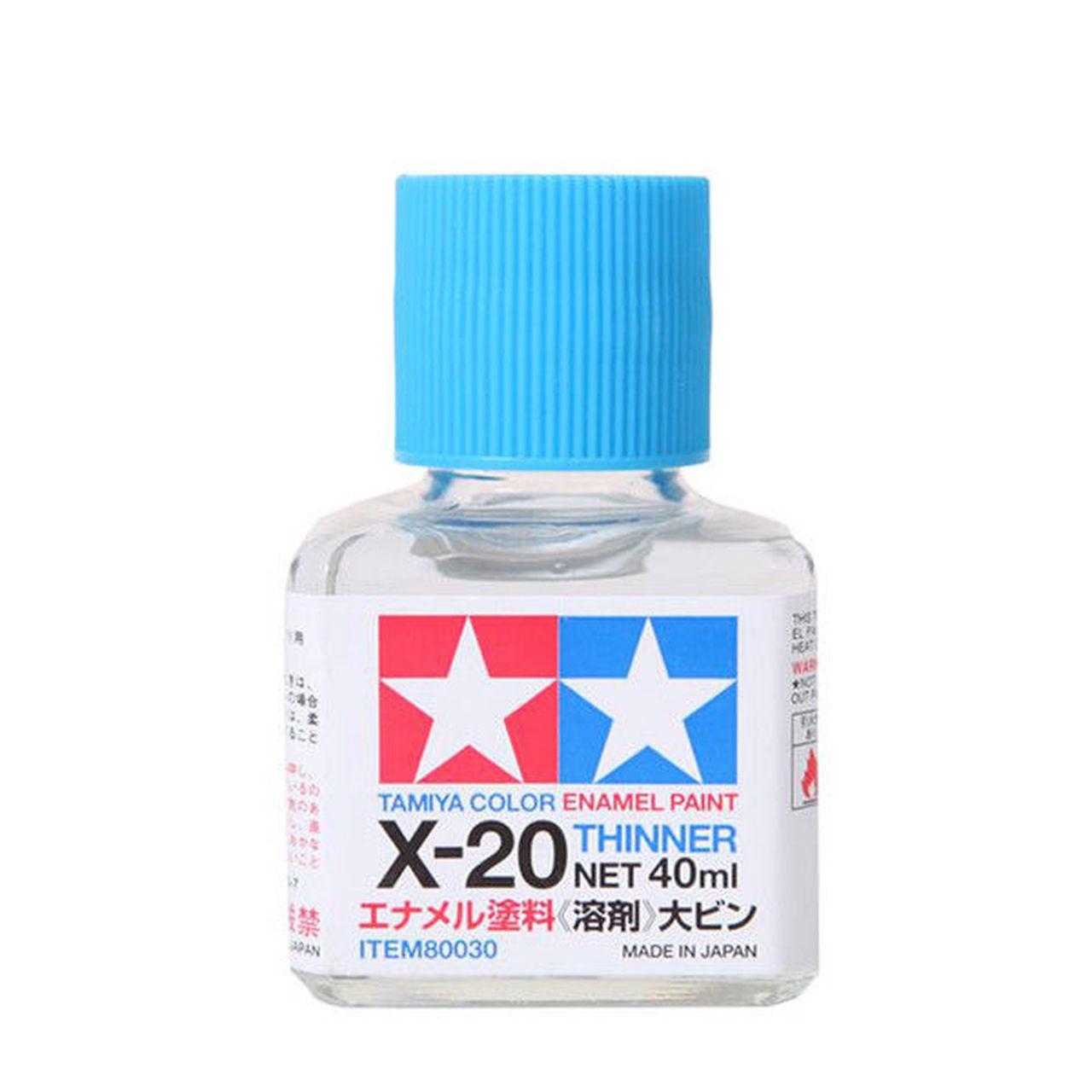 Tamiya #80030 X-20 Enamel Thinner 40ml