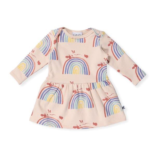 Minti Baby Rainbow Connection Furry Dress