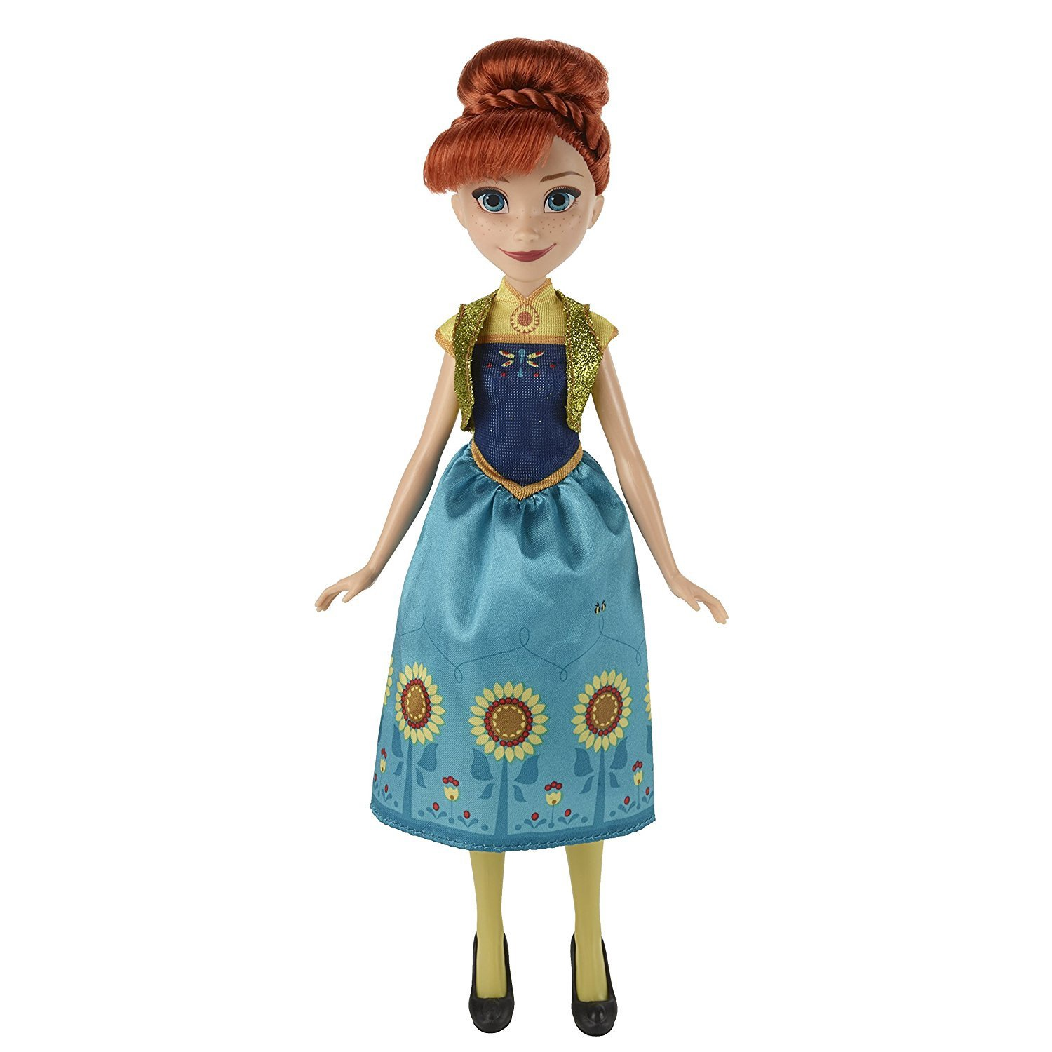 DISNEY FROZEN FEVER ANNA FASHION DOLL