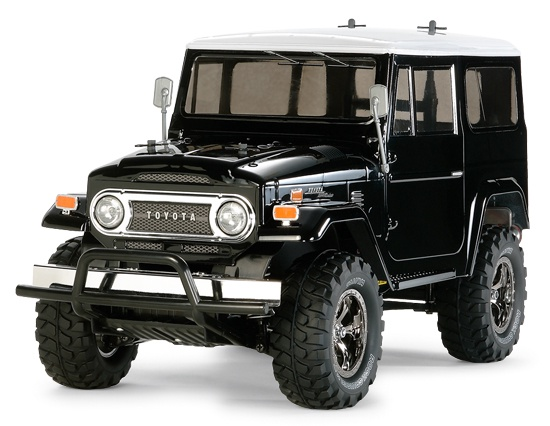 Tamiya #58564 1/10 CC-01 Land Cruiser 40 Black Edition