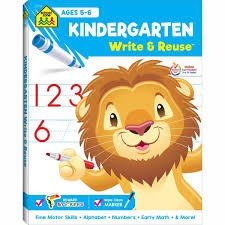 KINDERGARTEN WRITE & REUSE AGES 5-6
