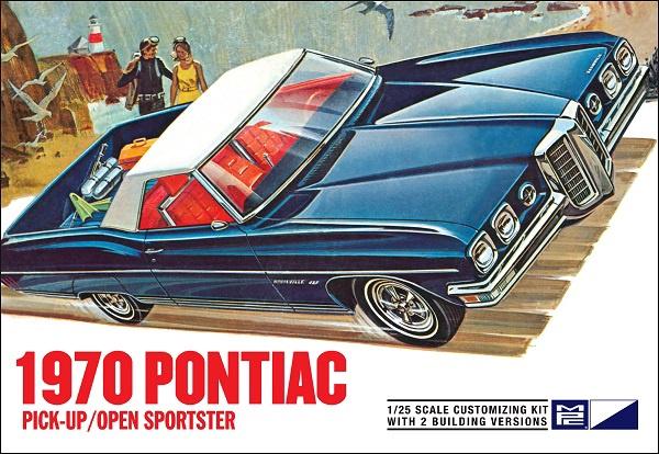 MPC #840 1/25 1970 Pontiac Pickup/Open Sportster