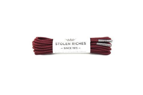 STOLEN RICHES - BOOT LACES (7-9 EYELETS) IN DER ALTE BURGUNDY