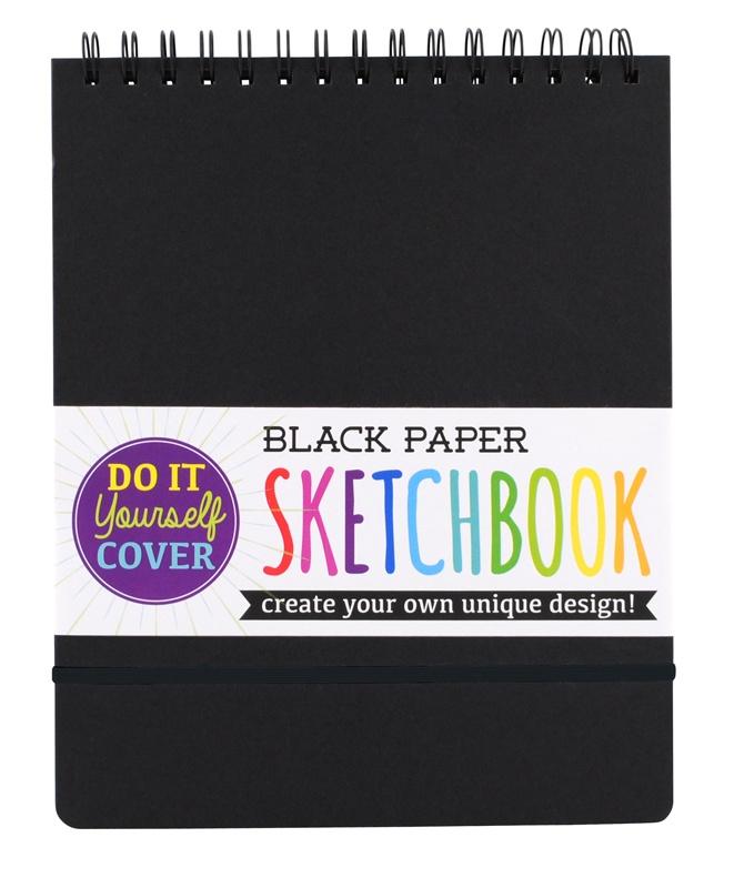 BLACK PAPER SKETCH BOOK