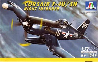 Italeri #044 1/72 Corsair F-4U/5N Night Intruder