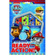 PAW PATROL READY FOR ACTION STICKER