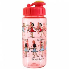 DRINKING BOTTLE WITH STRAW BALLET
