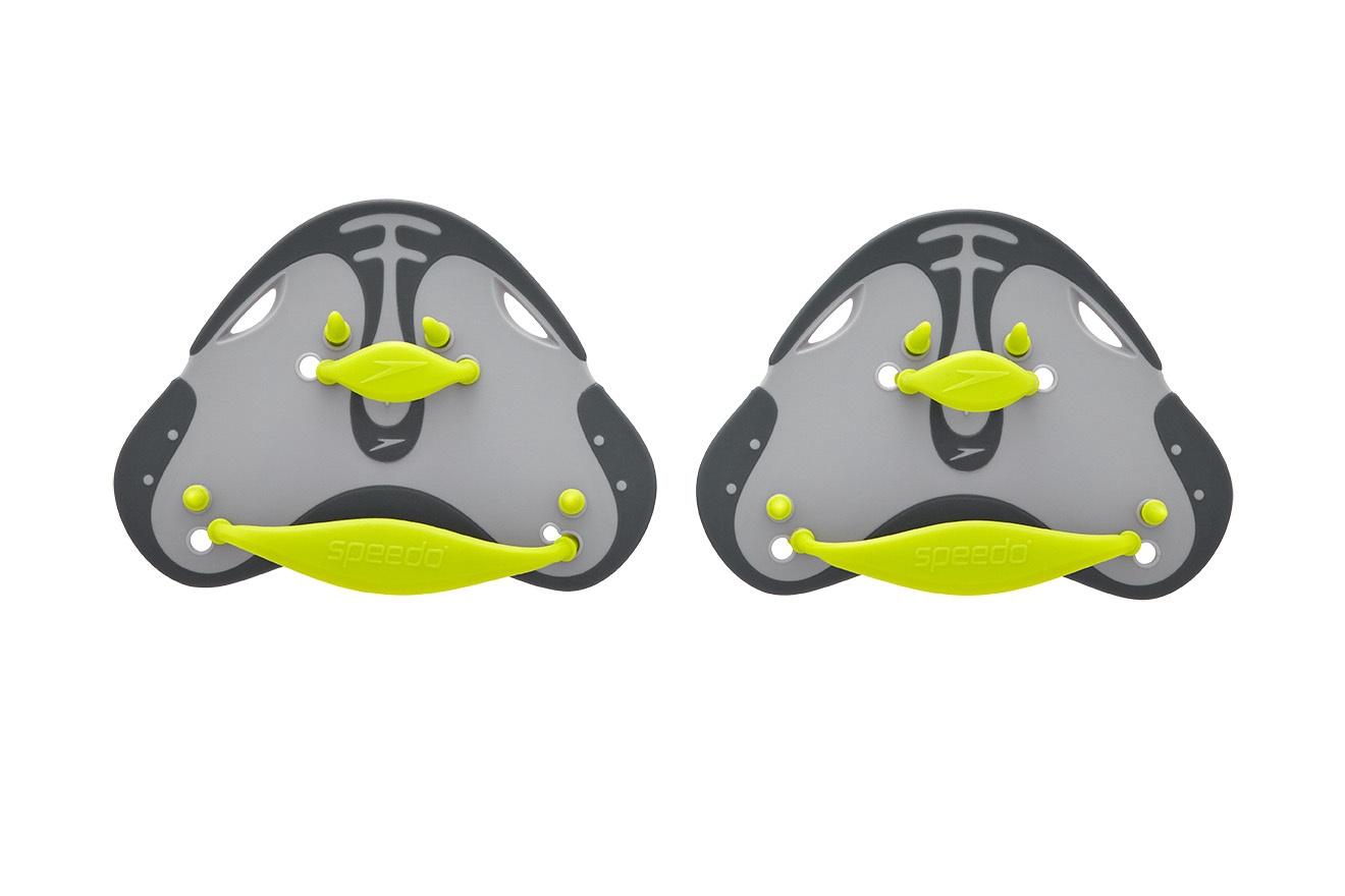 Finger Paddle Oxide Grey/ Lime Punch