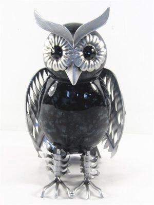 Owl black small freestanding