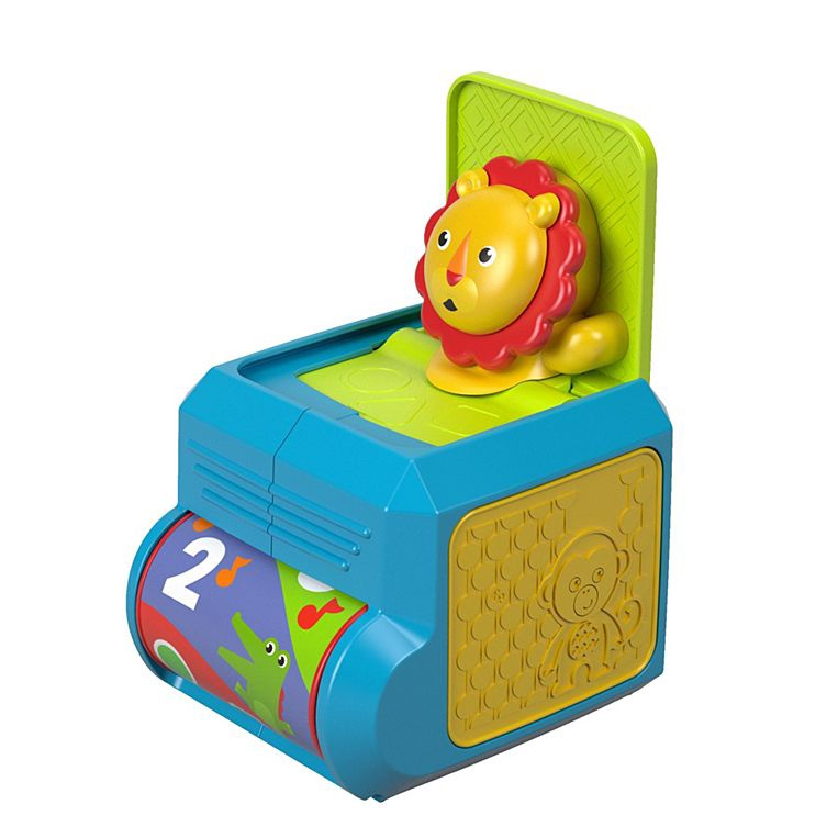 FISHER PRICE SPIN & SURPRISE LION