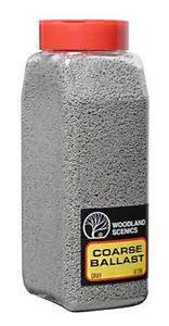Woodland Scenics #B1389 Coarse Ballast Gray Shaker