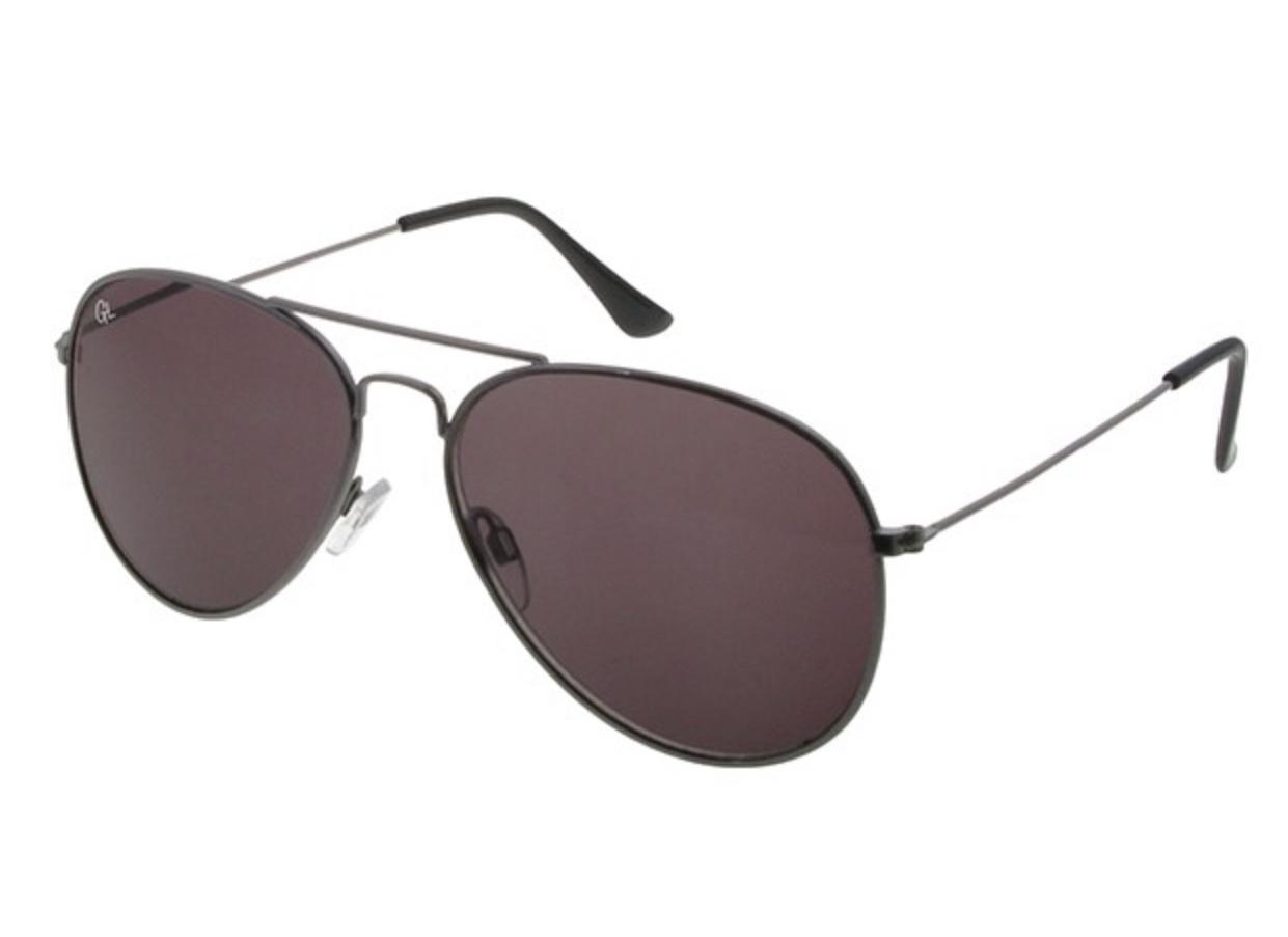 Classic aviator metal frame Polarised sunglasses