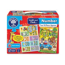 LOOK AND FIND NUMBER PUZZLE