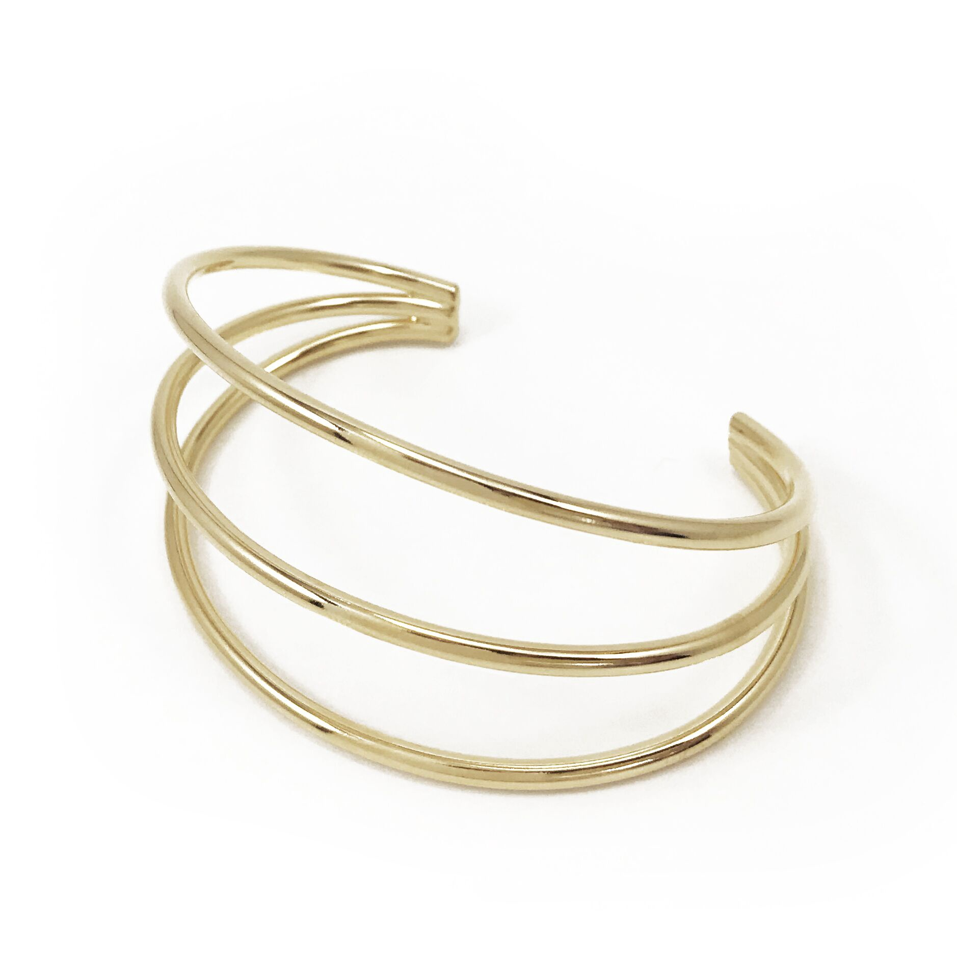 BIKO - GENESIS CUFF IN GOLD