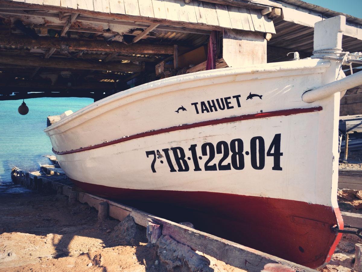 Tahuet Boat Formentera