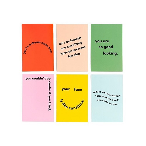 Compliment Postcard Book