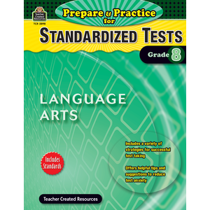 X TCR 2898 PREPARE AND PRACTICE FOR STANDARDIZED TESTS LA G8