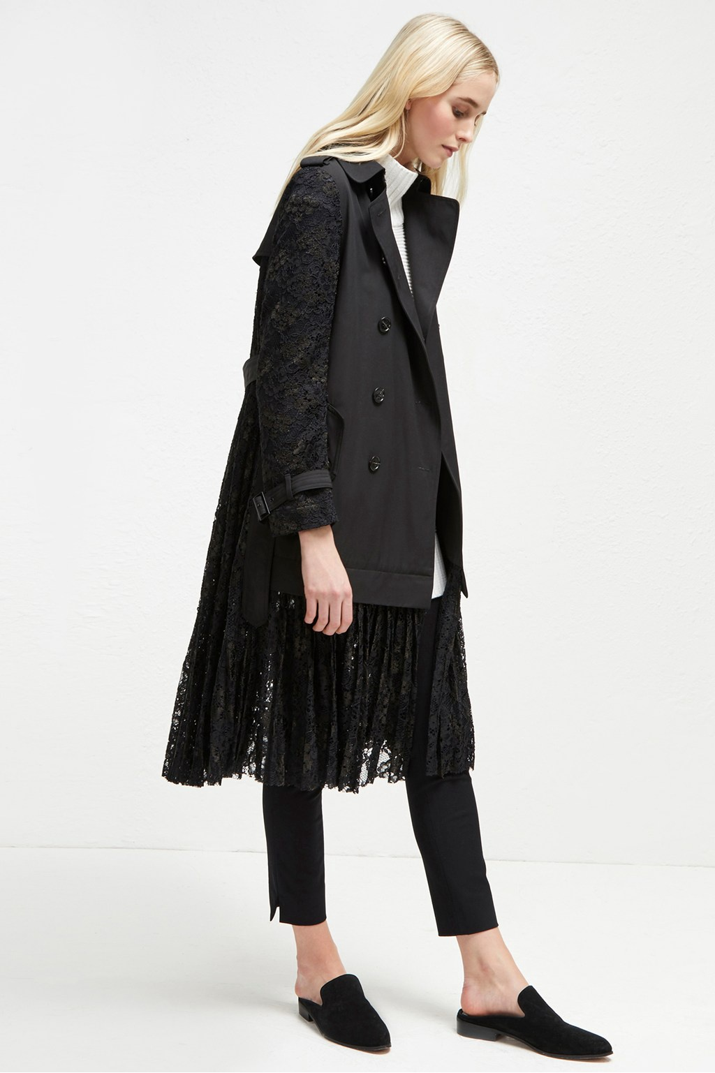 French Connection Lace Coat