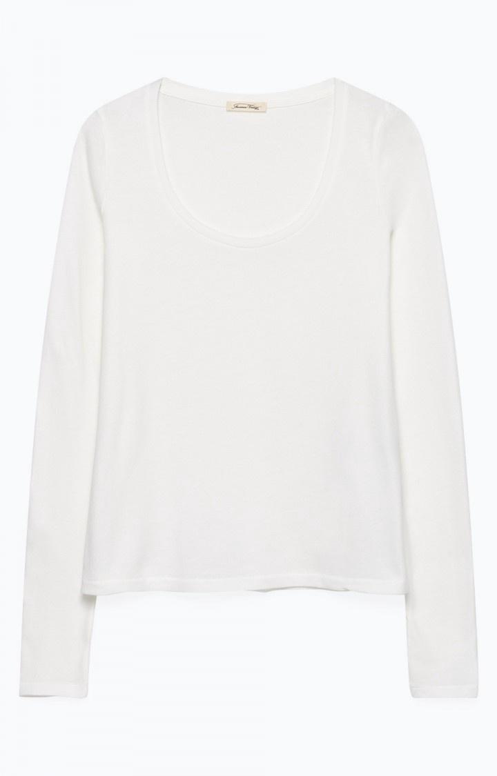 Bipcat White Long sleeve T-shirt