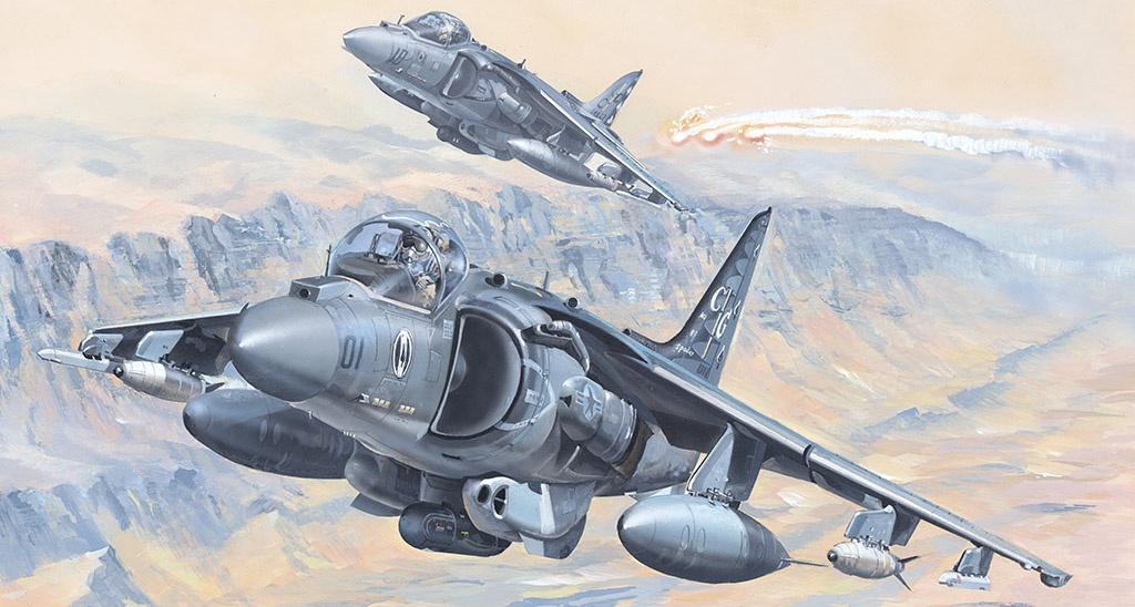 Hobby Boss #81804 1/18 AV-8B Harrier II