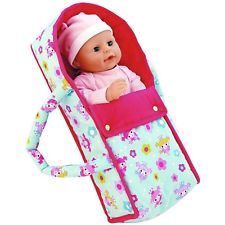 DOLL'S WORLD DELUXE CARRIER COT