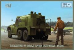 IBG Models #72022 1/72 Diamond T 968A with Asphalt Tank