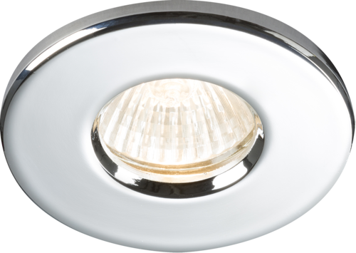 IP65 RECESSED DOWNLIGHT CHROME GU10/MR16