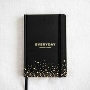 FRANK EVERYDAY UNDATED PLANNER - BLACK