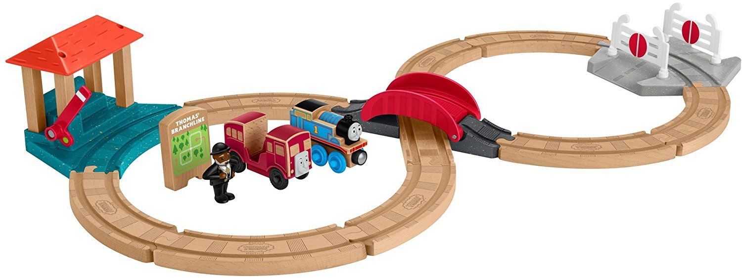 THOMAS & FRIENDS WOOD RACING FIGURE 8 SET