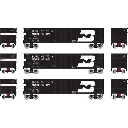 Athearn #ATH27143 50' Thrall High Sided Coal Gondola (3Pack)