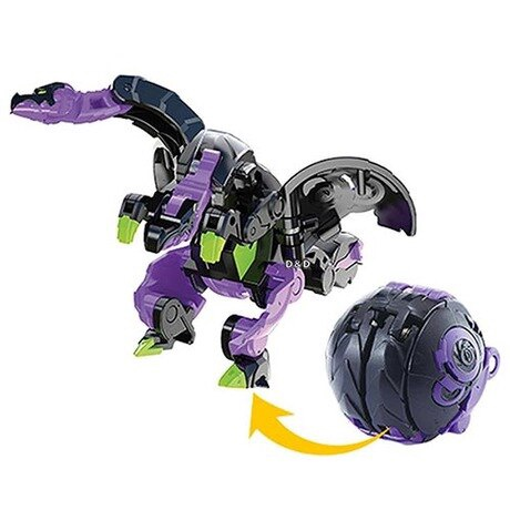 BAKUGAN BAKU012 HEAD DRAGON BLK