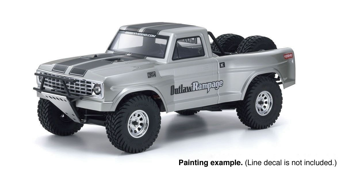 Kyosho #34362  1/10 Outlaw Rampage PRO (70% Assembled)