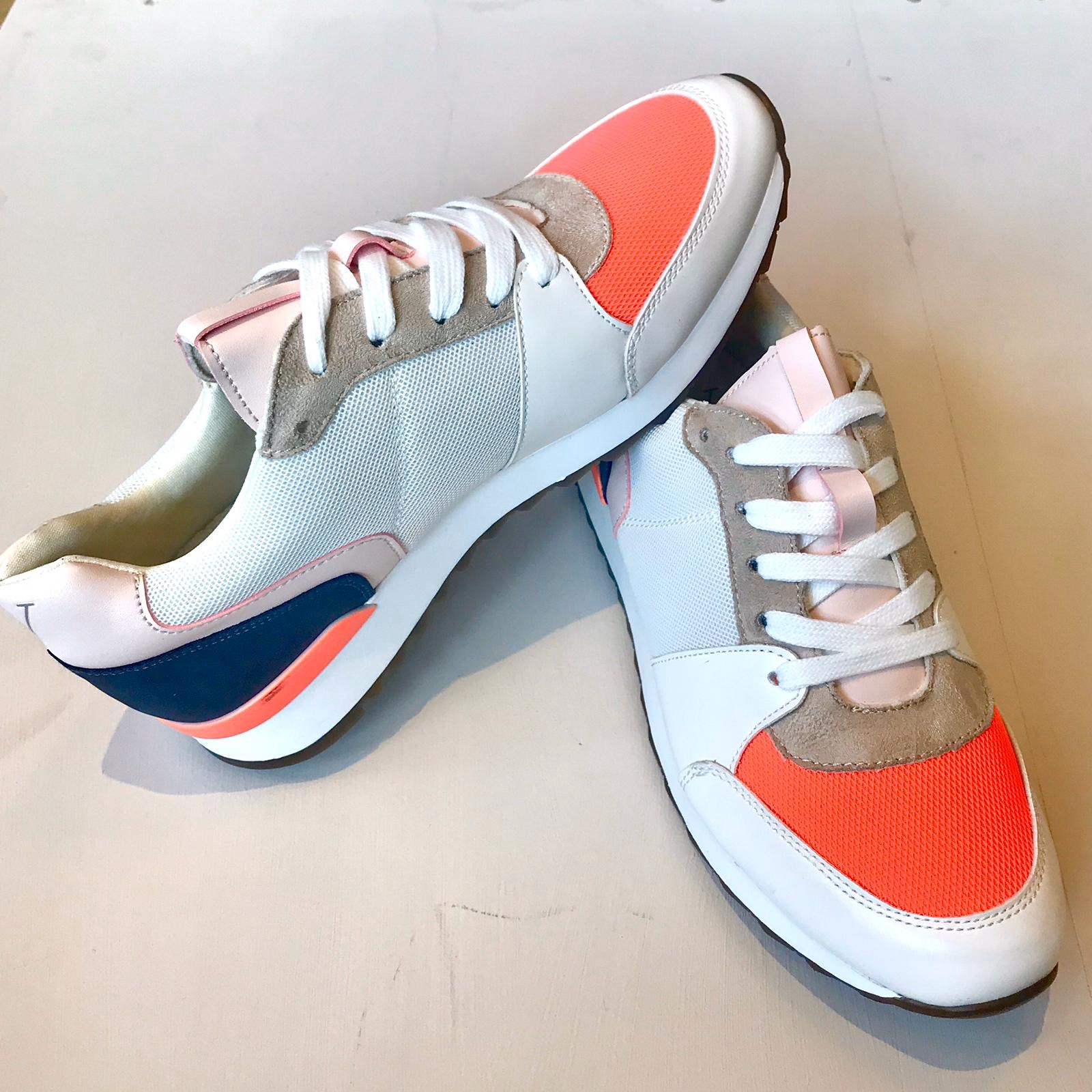 Vanessa Wu Trainer Rouge (Orange / White)