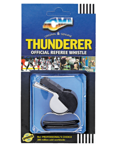 ACME Thunderer Official Referee Whistle - Metal