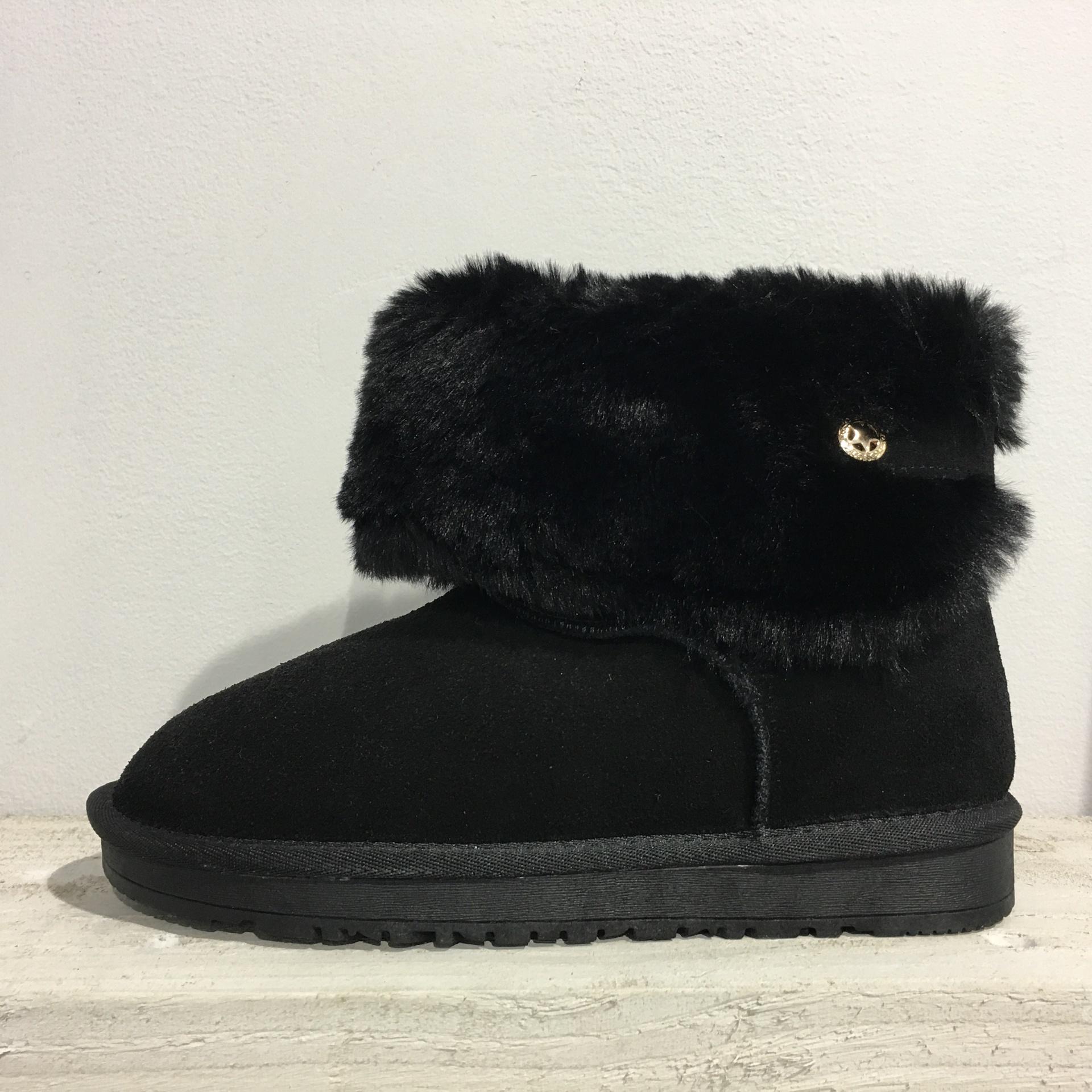Sheepskin Suede Boot