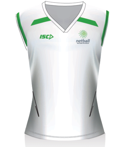 Netball WA Womens Umpire Shirt