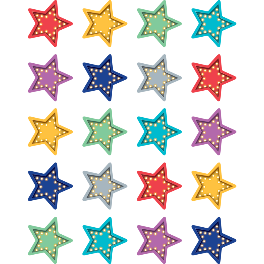 TCR 5480 MARQUEE STAR STICKERS