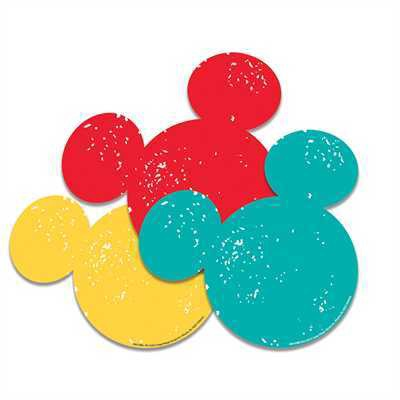 EU 841008 MICKEY MOUSE CUTOUTS