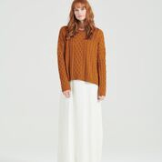 ANNIE JUMPER - COPPER