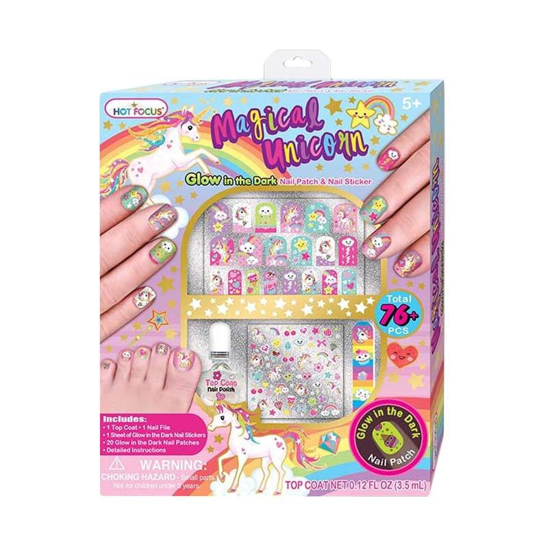 MAGICAL UNICORN NAIL PATCH & NAIL STICKER GLD