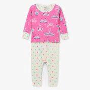 Hatley Pretty Princess Organic Cotton Baby Pajama Set