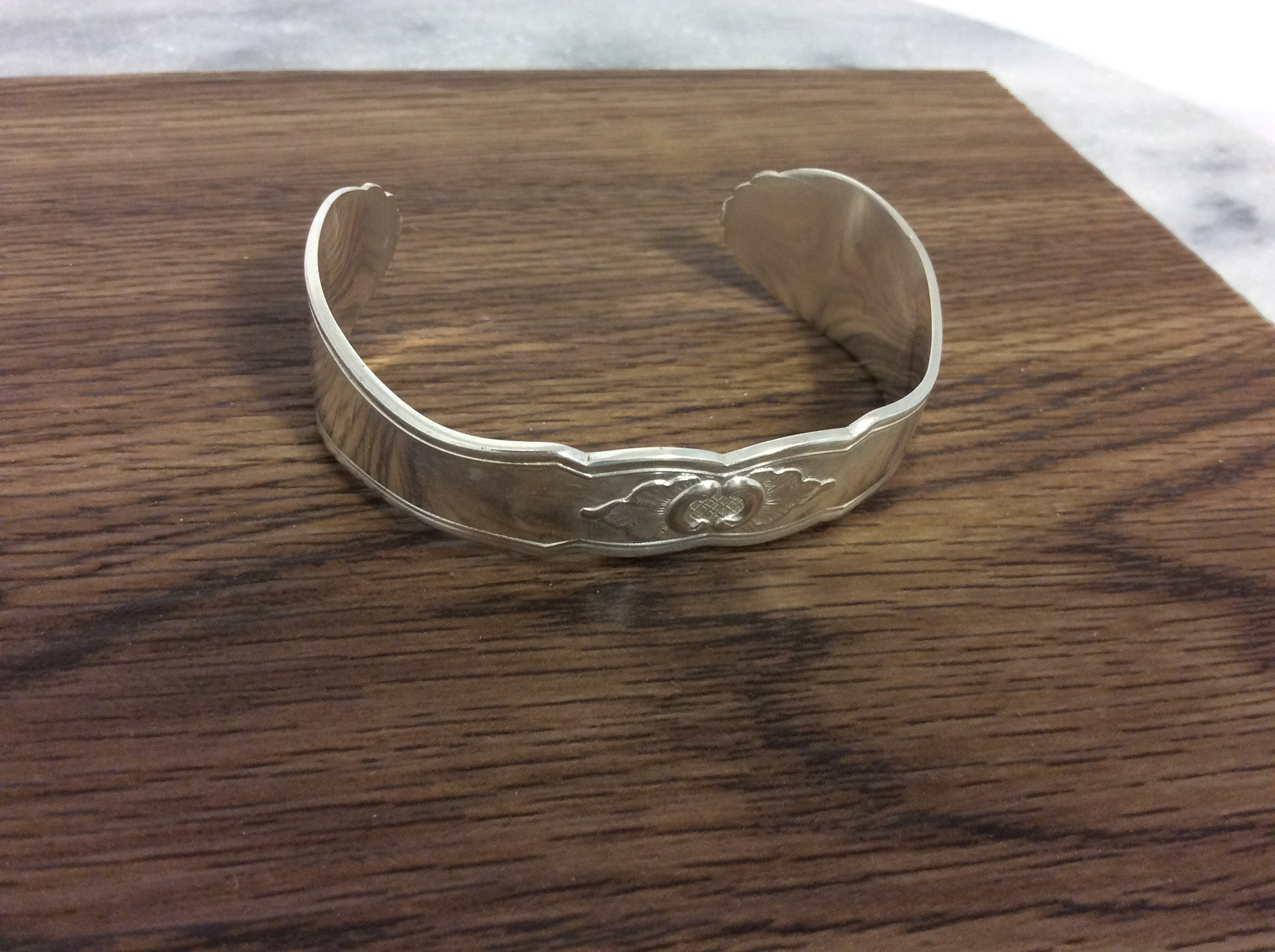 Vintage 1944 Danish Sterling Silver Cuff