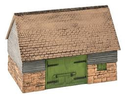 Wills #SS30 Stone and Timber Barn